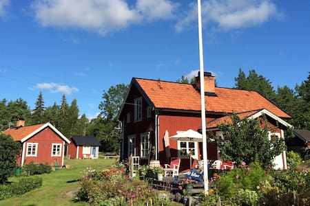 Gorgeous Countryside Farm in Sweden - Hallstavik - Casa