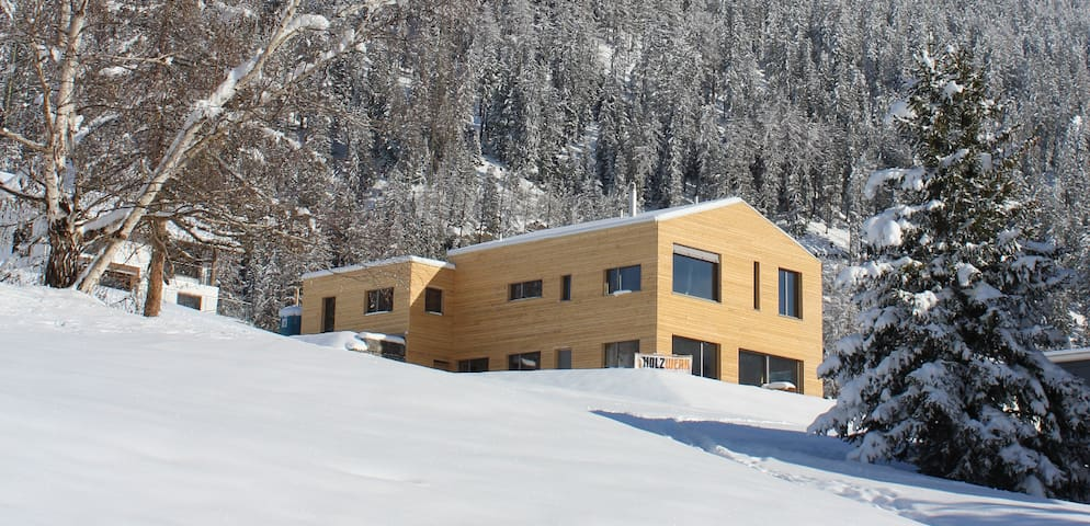 Modern Appartment Swiss Alps - Savognin - Daire