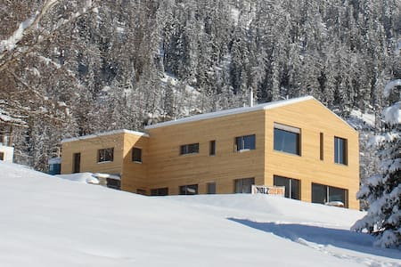 Modern Appartment Swiss Alps - Savognin - Huoneisto