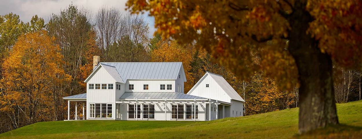 Serene Modern Farmhouse . MTN Views to Killington.