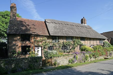 Pond Cottage. 16c thatched house - Wilmington - Rumah