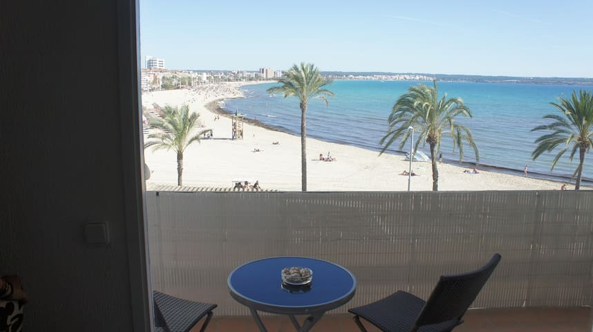 wonderful views of Palma Beach - Can Pastilla - アパート