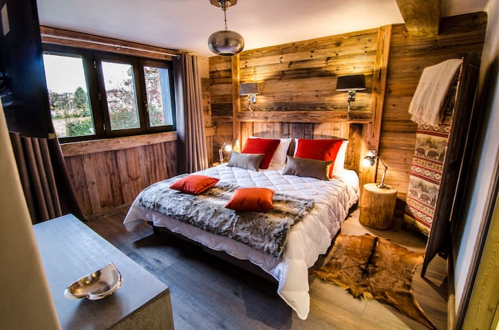 "Chambre twin ""Les Brigues"" - COURCHEVEL - Bed & Breakfast"