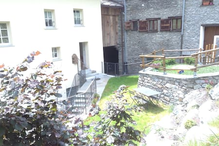 ❤️Lovely flat in the mountain, private garden! - Étroubles