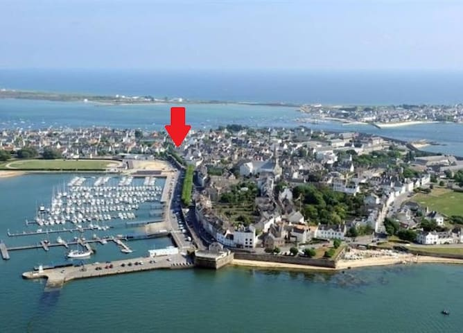 Au coeur de Port-Louis-Bretagne Sud - Port-Louis - Hus