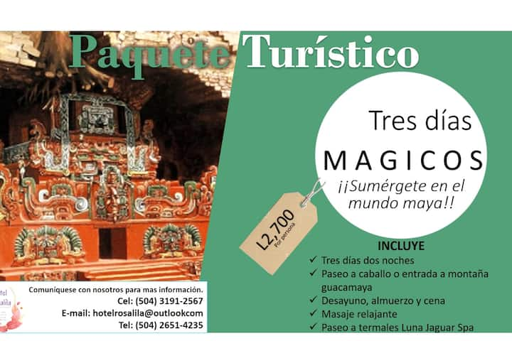 "Tour package ""Mayan Holidays"""