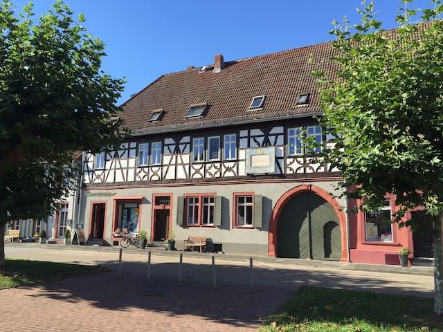 Romantische Ferienwohnung am Schöfferplatz