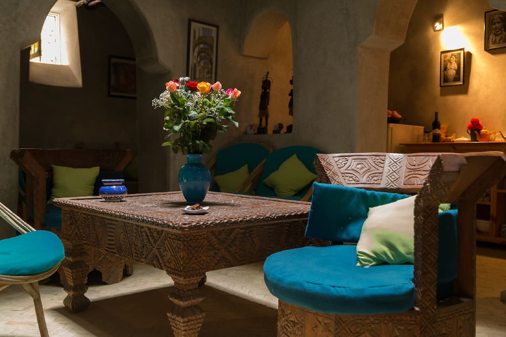 Riad In Heart Of The Ancient Medina Houses For Rent In