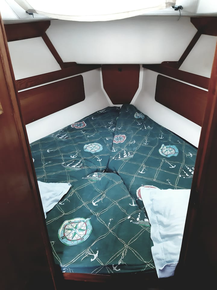 Romantic sailing boat