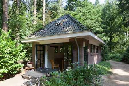 Leuk vakantiehuisje in het bos
