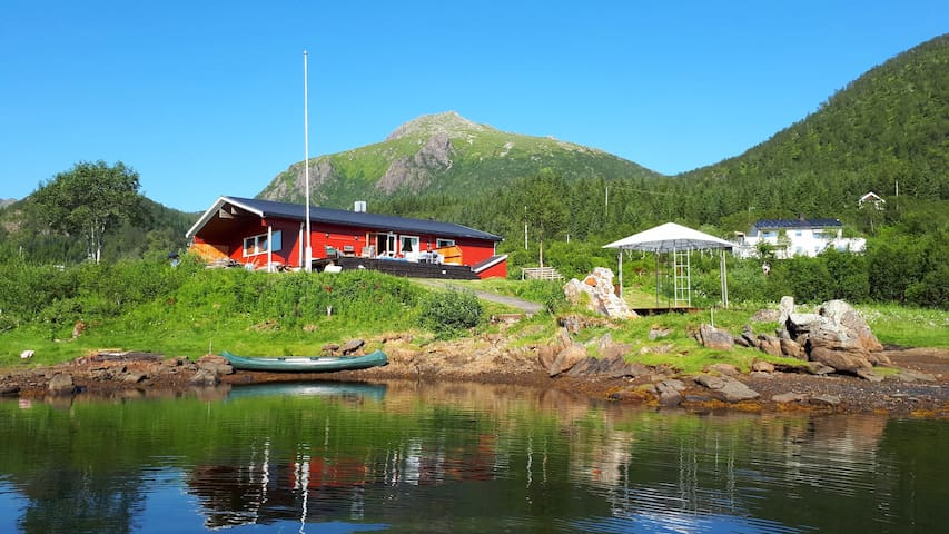 Big cabin for the whole family. Lovely and paceful