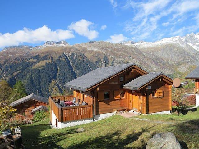 Chalet Weitblick 5 Sterne luxeriös in Top Lage - Bellwald