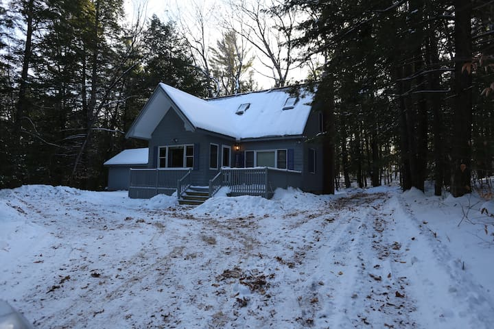Close to the Slopes Cabin - Bridgton - Cabana