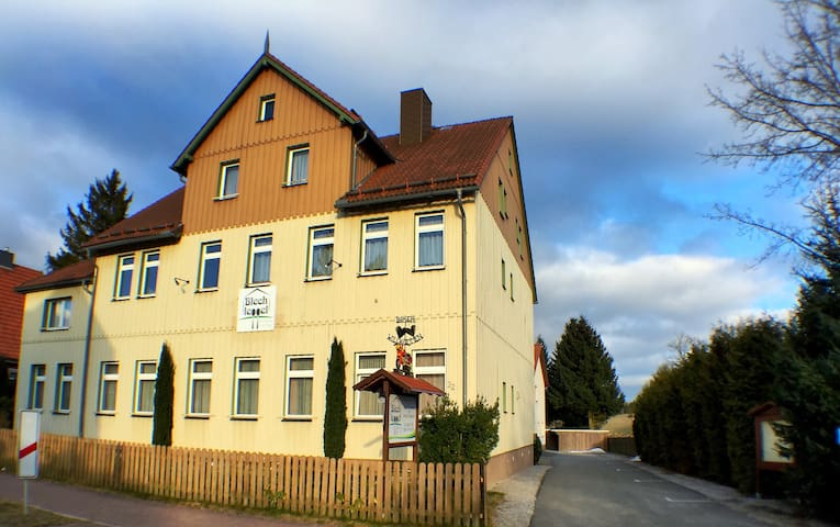 Blechleppel-Die Pension im Harz - Benneckenstein (Harz) - Appartement