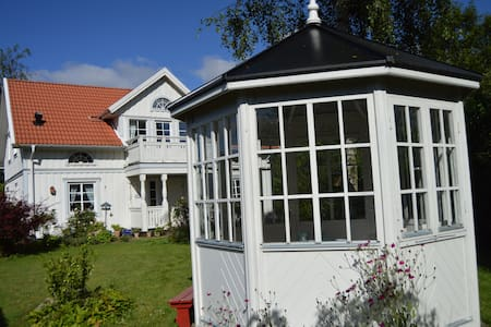 A Swedish white wooden house - Herning - Wikt i opierunek