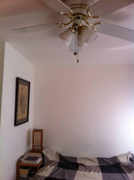 ventilateur au plafond