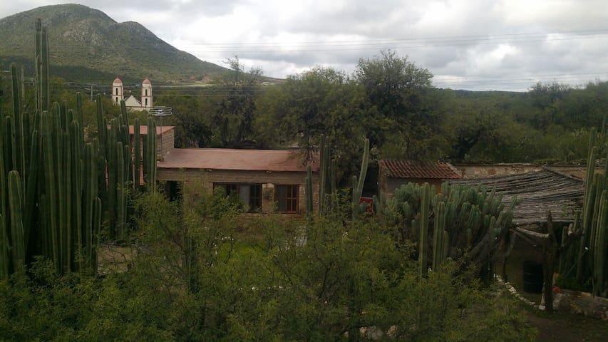 Casa de Campo - Jagüey km 47 sobre la carretera 57  - Houten huisje