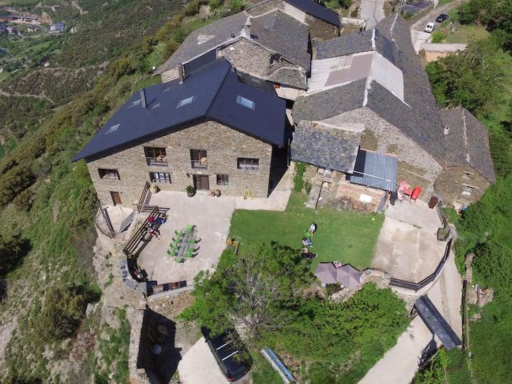 Acogedor Refugio Rural. Habitación para 6 personas