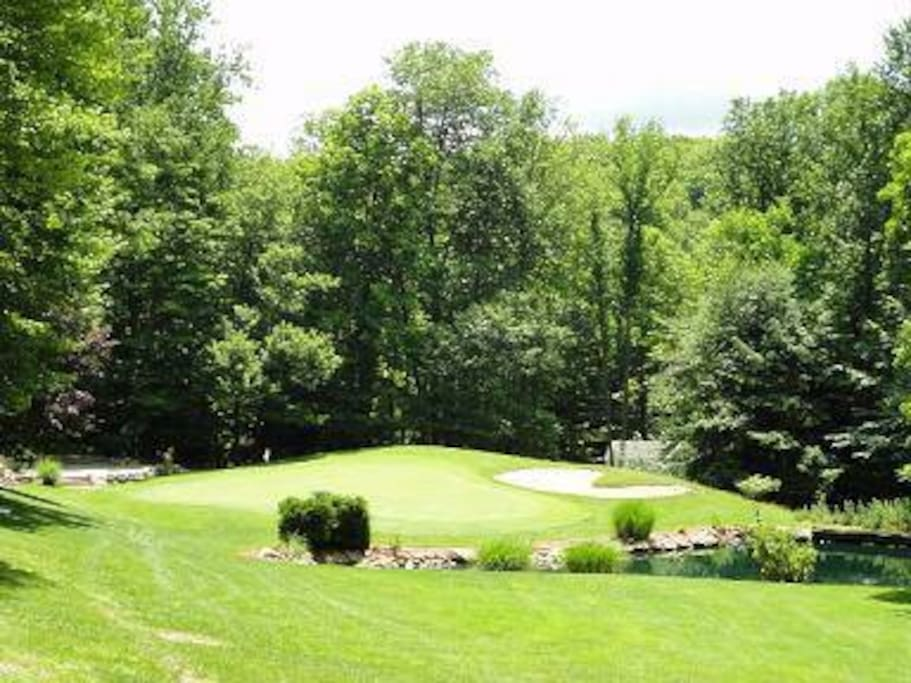 Don't forget your golf clubs to challenge two tremendous 18 hole PGA championship courses!