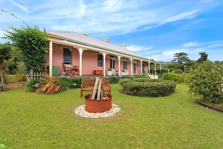 Heritage Homestead 90min from Sydney - Tullimbar