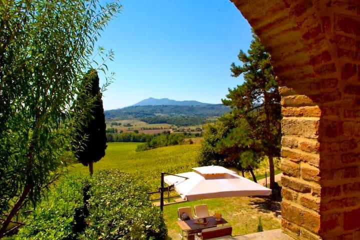 TuscanyCountryHome PoggioCantarello - Chiusi - Flat