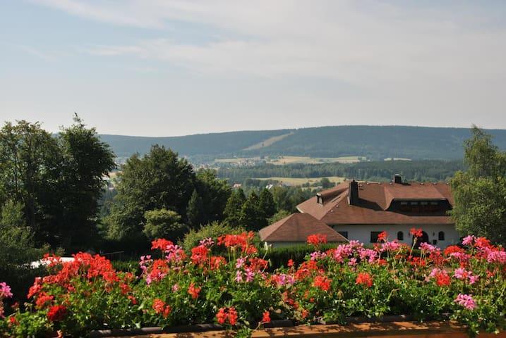 Tolle Ferienwohnung in Fichtelberg - Fichtelberg - Lägenhet