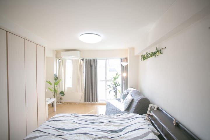 Two Apartment in one building! Max 11PPL! - Shinjuku-ku - Apartment