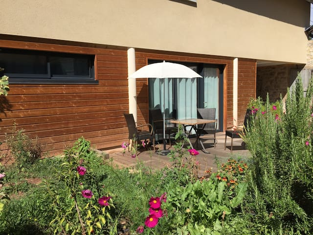 Appartement Junior Terrasse&Jardin - Campagnac - Flat