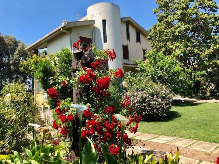 Appartamento in villa a 500 m dal mare