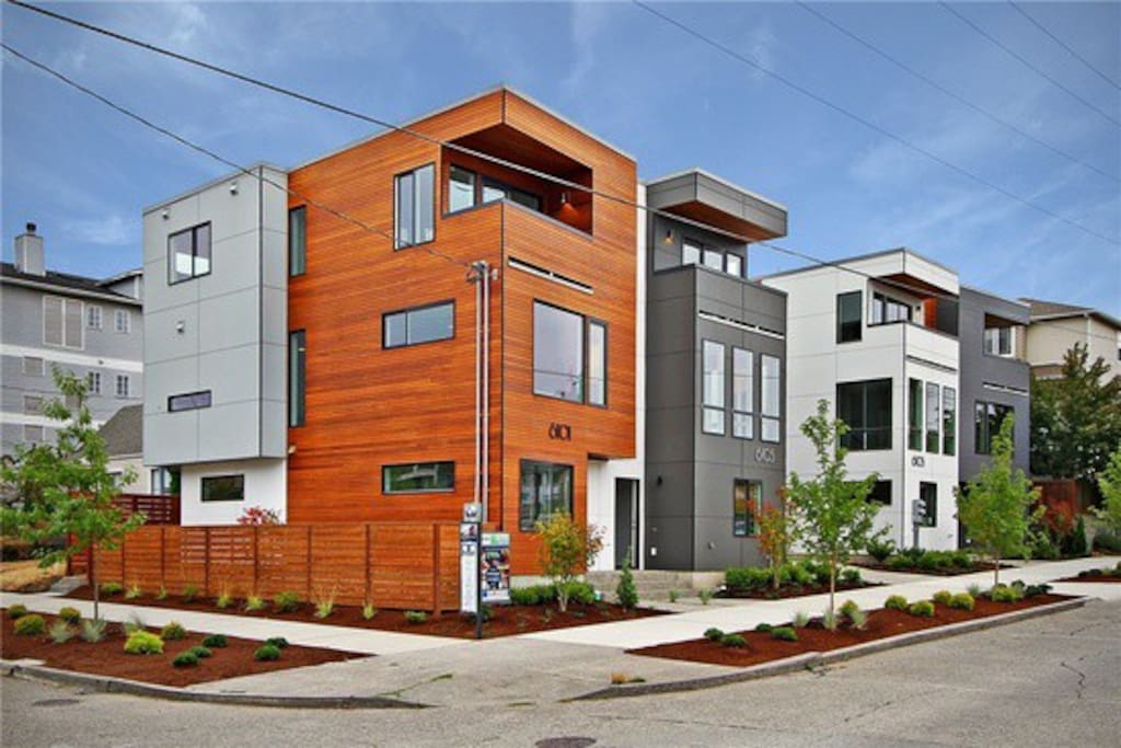 Gorgeous Ballard Modern 3 Bedroom Townhome Balcony Townhouses For Rent In Seattle Washington