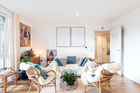 Tranquil apartment near the buzzing London life.