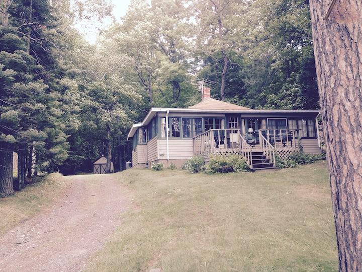 """The Cottage"" on Lake Amnicon"