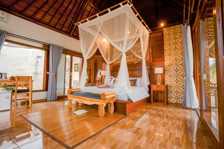 Ubud Private room can't be more stylish than this!