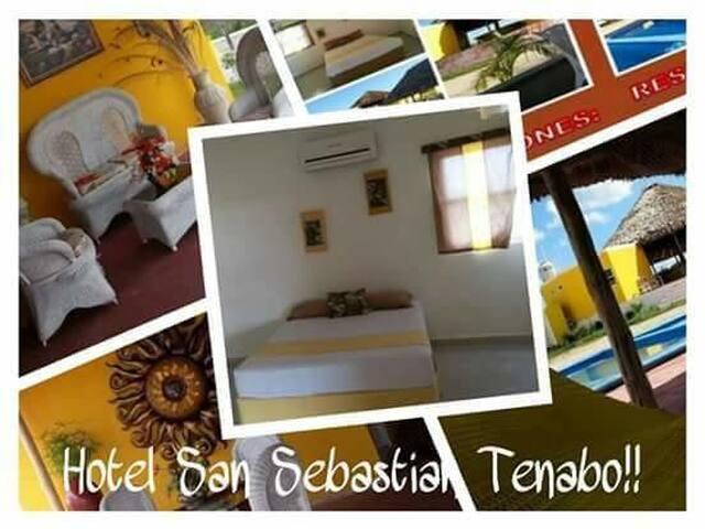 habitación privada LUCIANA en hotel San Sebastian