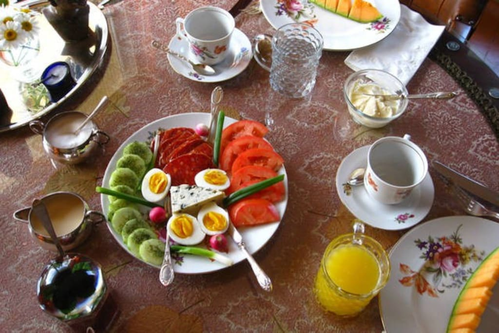Perfect start of your day - breakfast included