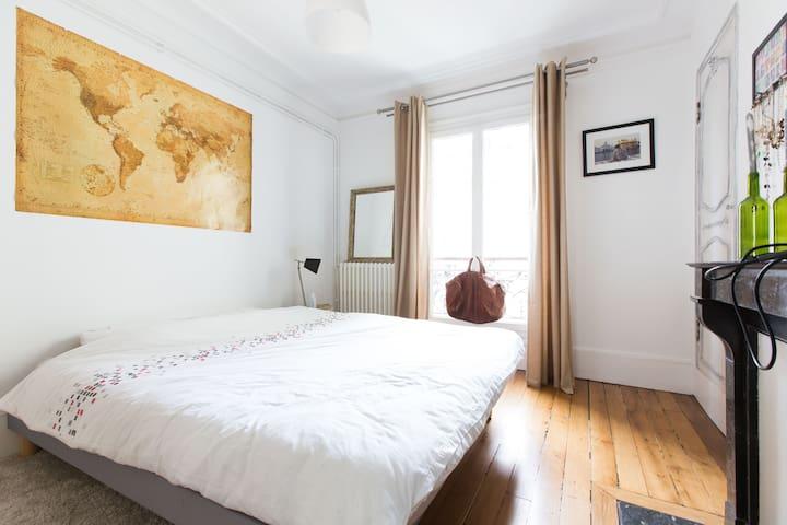 Spacious haussmanian flat - París - Departamento