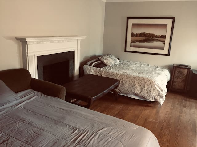 The Ready Room Suite. Spacious and Bodacious.