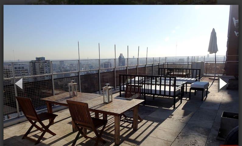 Zona Polo duplex Penthouse Terraza con parrilla
