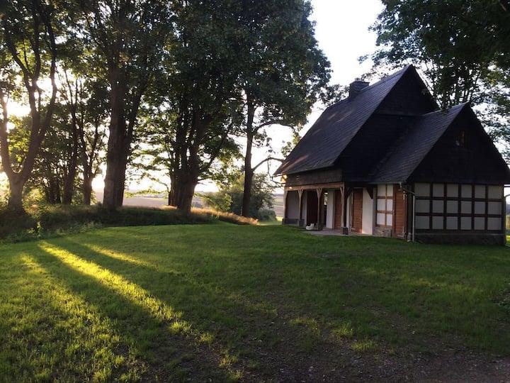 Luxus Waldhütte im Thüringer Schiefergebirge