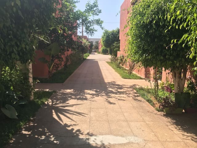 Jolie Maison El Nahda/3min de marche à la plage