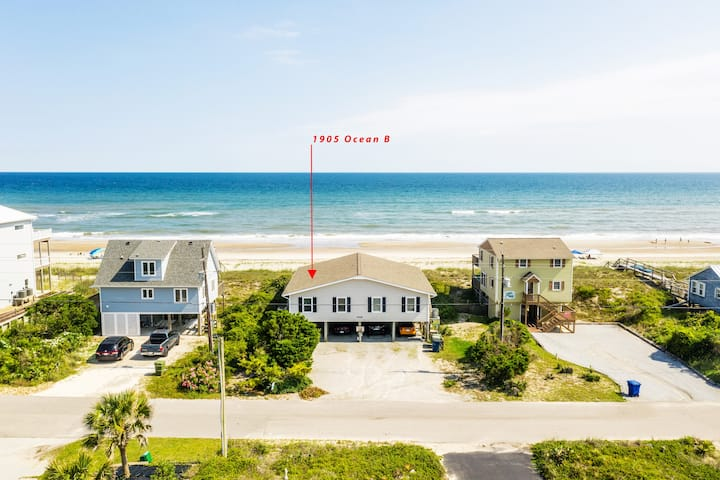 Oceanfront Seaton Hall East-Stay Where You Play
