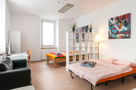 JUNIOR SUITE STUDIO - ACCOMODATES 4 PEOPLE - Lugano - Apartament