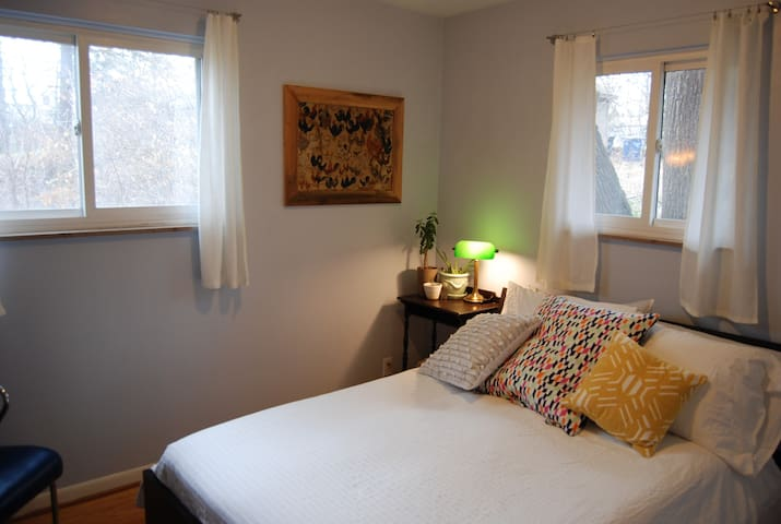 Cute, comfy private room in Ann Arbor - Ann Arbor - Talo