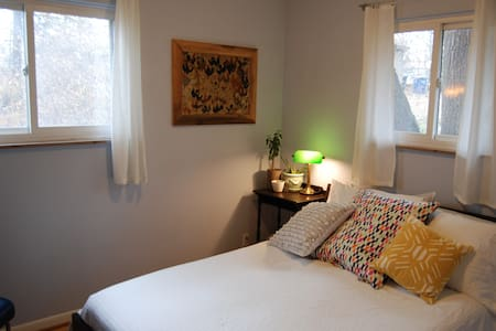 Cute, comfy private room in Ann Arbor - Ann Arbor - House