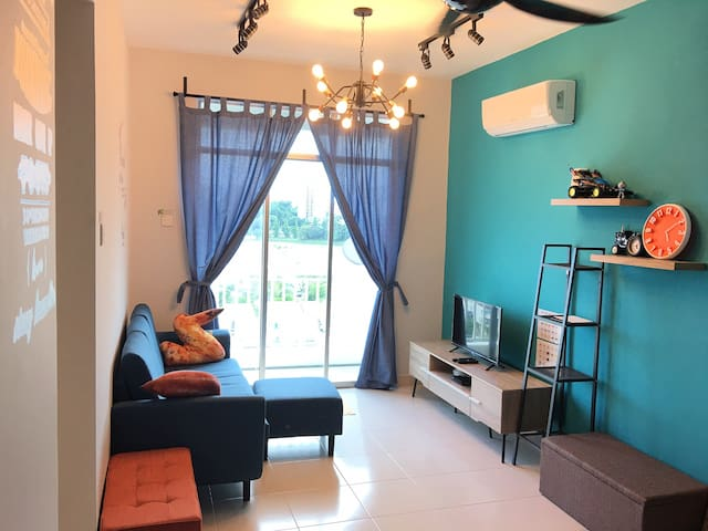 2B2B Cozy & simple apartment near @Penang Airport