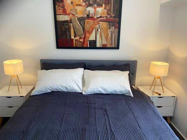 Brand new comfortable queen bed
