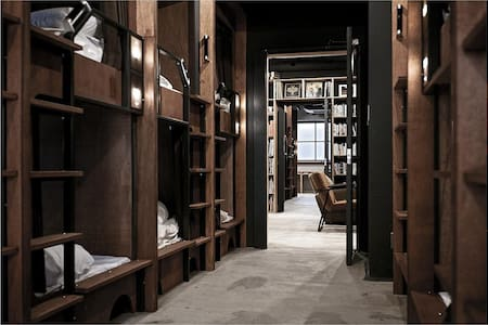 THE DORM HOSTEL OSAKA Female Dormitory Room