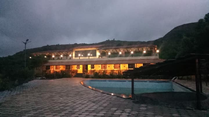Resort for family near trimbak,Nashik