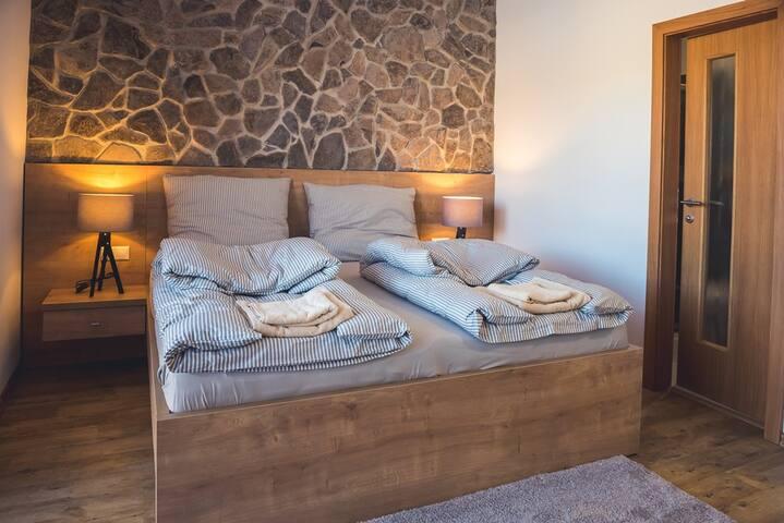 Štúdiový apartmán pre 2 osoby - Vila Anna