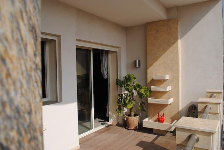 Soleil 1 luxueux apart Garage terrasse - Agadir - Apartament